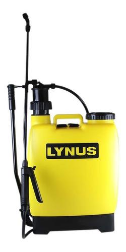 pulverizador manual costal tanque de 20 litros - lynus