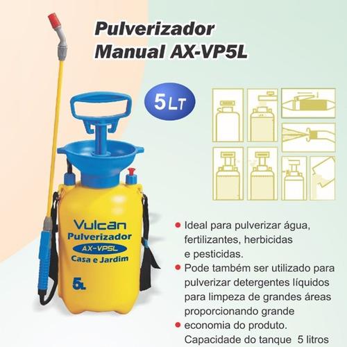 pulverizador pressão acumulada bomba aplicação veneno 5 l b