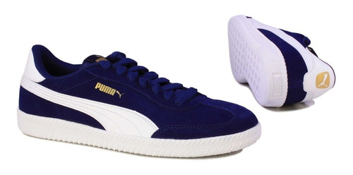 puma astro cup blue depths white 364423 01