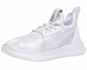8a759fded526 Puma Avid Tenis Para Mujer, Blanco Con Plata