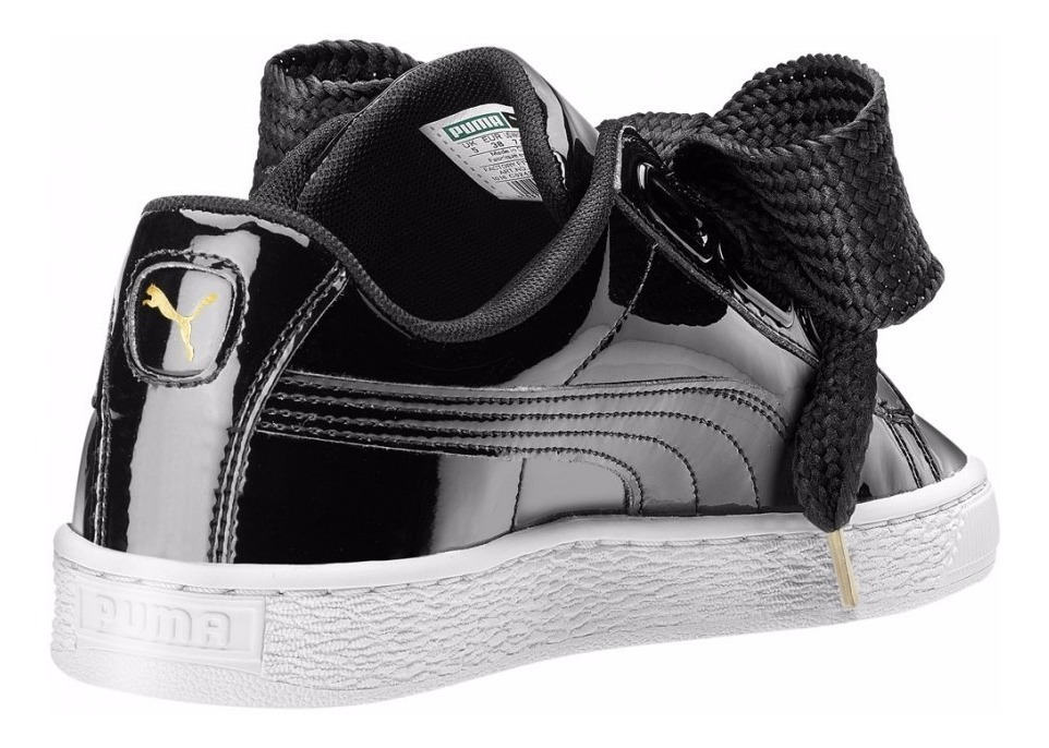 new concept f3e24 8ecd3 Puma Basket Heart No Fenty Rihanna Black