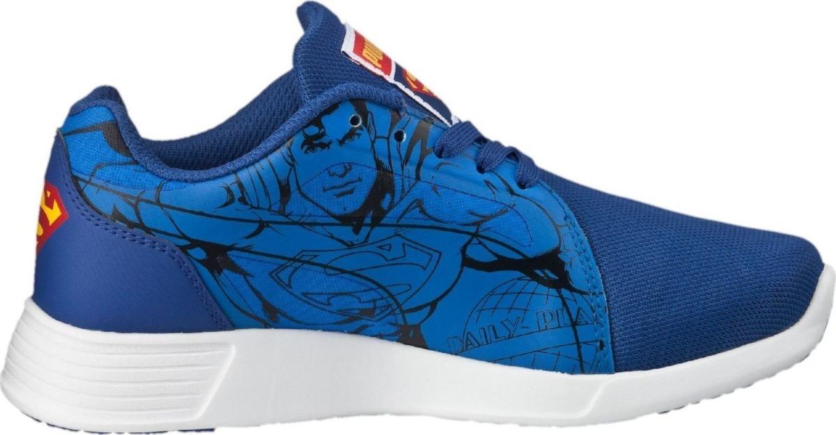 268af5fab69 Cargando zoom... tenis puma st trainer evo superman jr. casuales azul 40-01