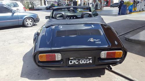 puma conversivel 1976 placas pretas - novissima,a toda prova