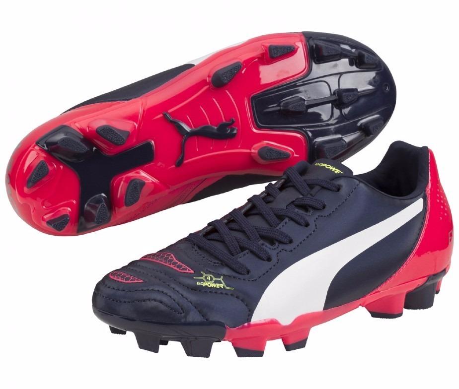 f1e819850b5e5 Puma Evopower 4.2 Fg Jr. Tacos Futbol Infantiles 18 Mex -   549.00 en Mercado  Libre