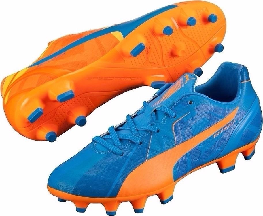 Puma Evospeed 4 H2h Fg Tacos Infantiles Futbol 22.5 Mex -   849.00 ... 8be4c9e36e426
