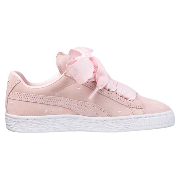 5e3d63f1a4350 tênis puma suede heart valentine rosa fat lace feminino · tênis puma  feminino · puma feminino tênis