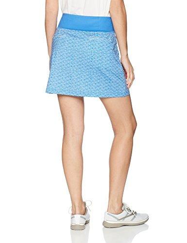 puma golf women's 2018 pwrshape polka dot knit skirt, ne