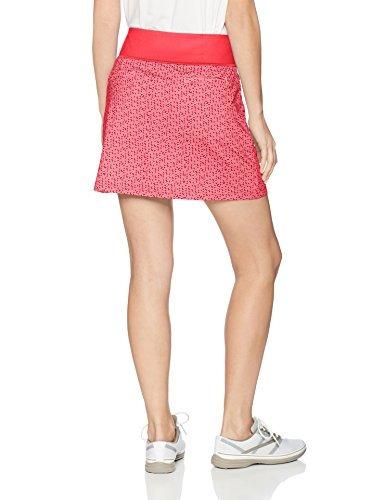 puma golf women's 2018 pwrshape polka dot knit skirt, pl