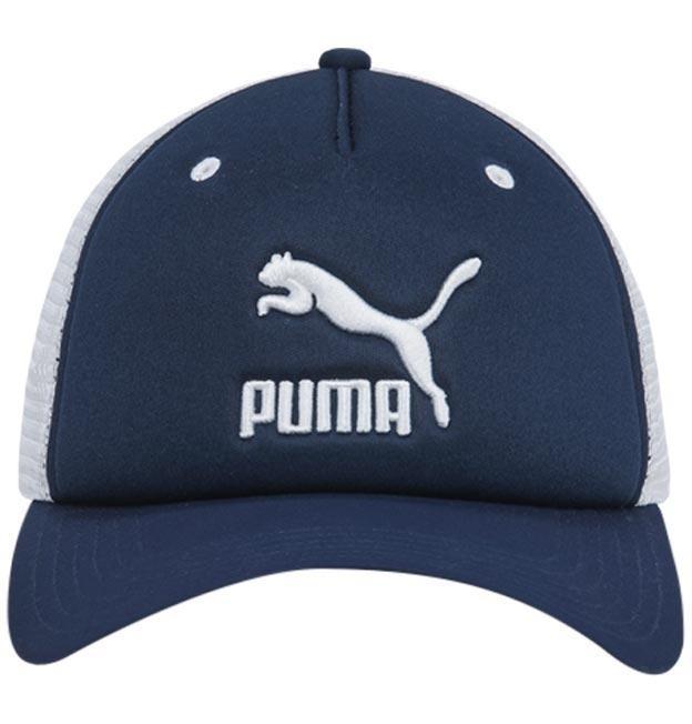 Puma Gorra Archive Trucker Cap Azul Blanco 0017436345 -   399.00 en ... 75f9db7267f