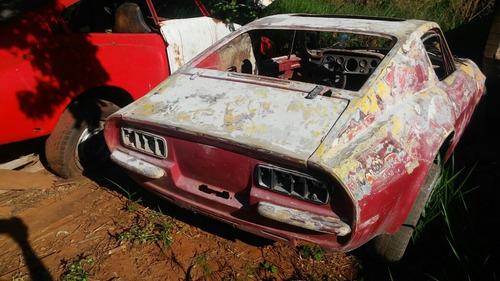 puma gt 1969 motor 1600  tem os vidros  painel placa amarela