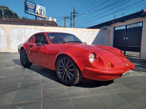 puma gt modelo tubarão 1975 motor 1500 vermelho ferrari