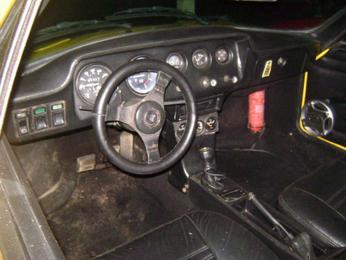 puma gtc amarelo 1983 motor 1600 impecável para colecionador