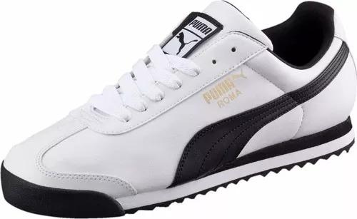 3dc9e9c070900 Zapatillas Puma Roma Basic Blancas Para Hombre Ndph - S  269