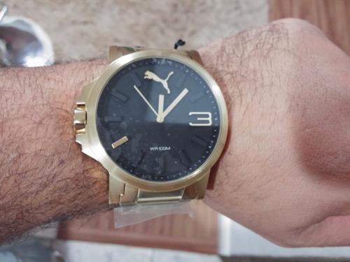 puma masculino relógio