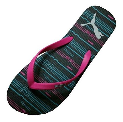 puma mujer deporte confort tira sandalias flip flop