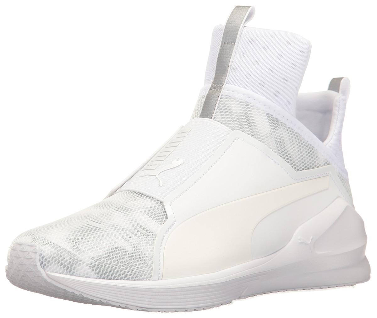 puma mujer zapatos blancos
