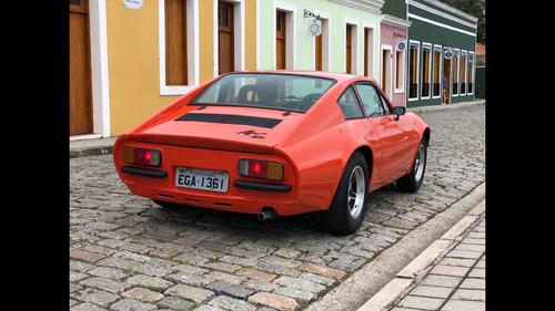 puma puma 1978 motor 1600 cc dupla carburação laranja