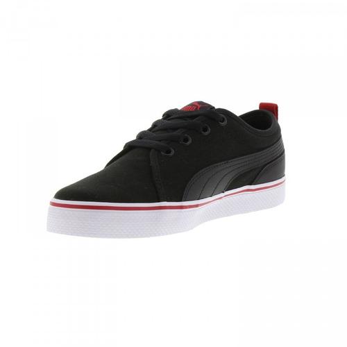 puma s street vulc sfoam jr black 362641 04 junior