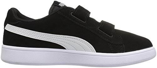 huge selection of 2adb9 63293 Puma Smash V2 Suede Preschool Sneakers (puma Black / Puma Wh