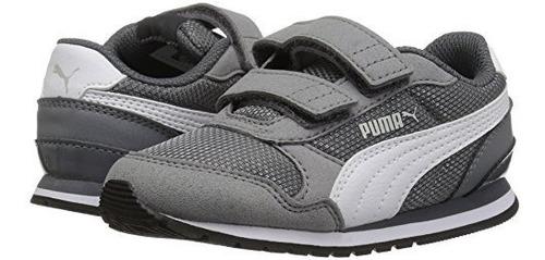 puma st runner nl zapatillas de velcro para ninos