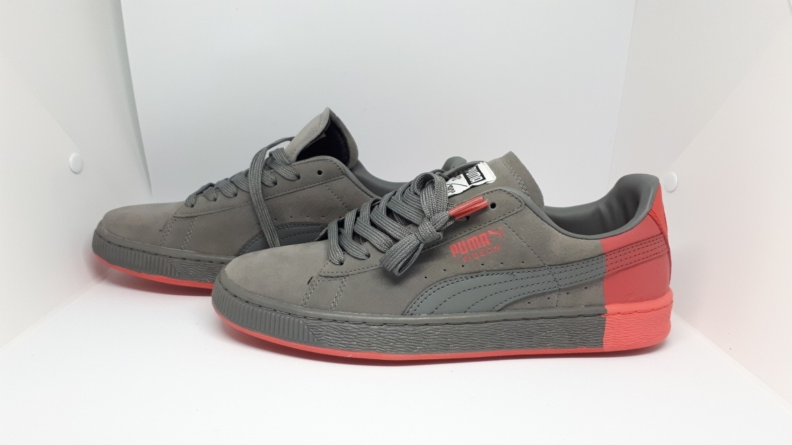 huge selection of 04a21 88c49 Puma Suede Grey Staple Pigeon + Envio Gratis
