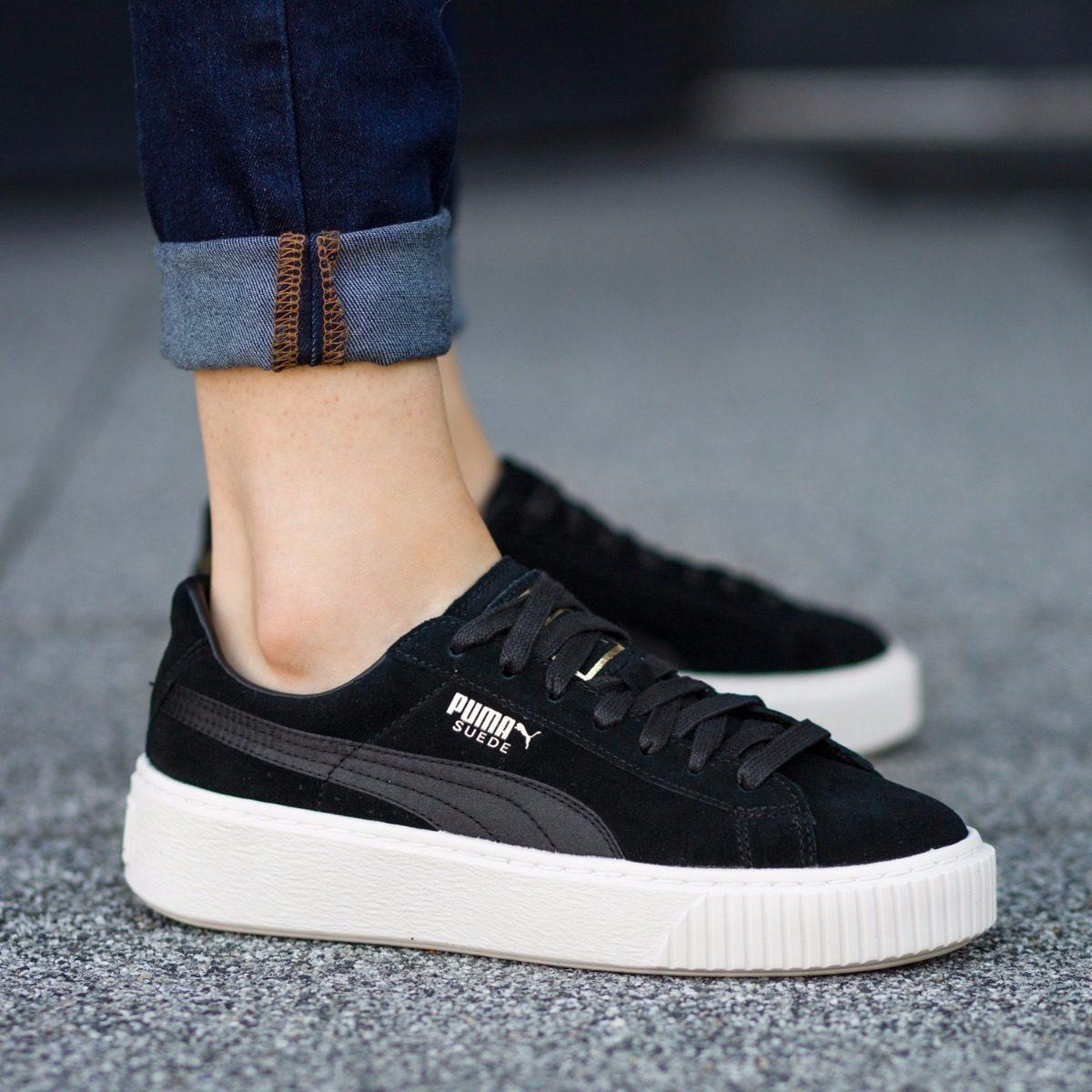 puma plataforma negra