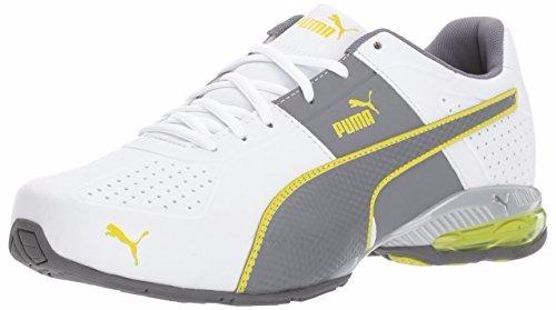 puma trainer amarillo