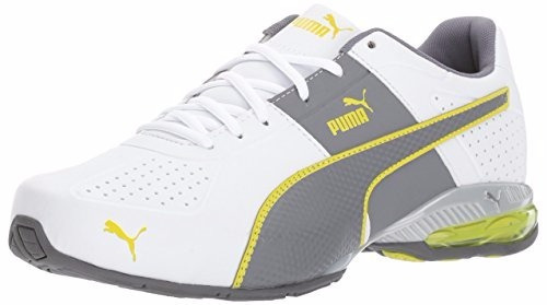 puma surin 2 fm cross-trainer blanco-amarillo 13 us