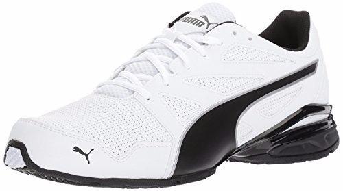 puma tazon modern sl fm sneaker blanco-black  7 us