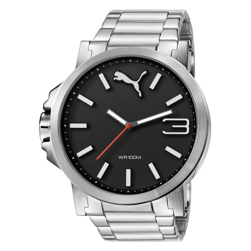puma ultrasize metal 50mm diametr reloj todo acero diego vez