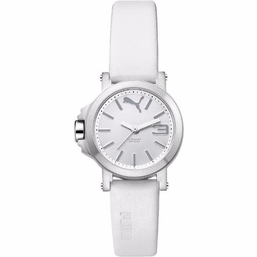 puma ultrasize mini 28mm diametro reloj blanco diego vez