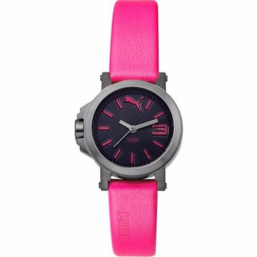 puma ultrasize mini 28mm diametro reloj piel rosa diego vez