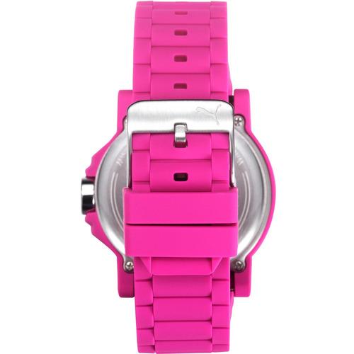 puma ultrasize play caja  correa silicon rosa 45mm diego vez