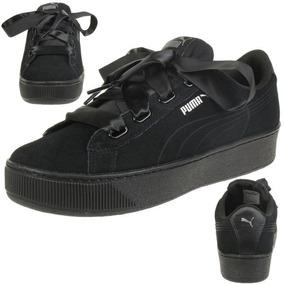 zapatillas puma mujer negras