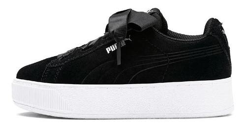 puma zapatillas lifestyle niña vikky platform negro fkr