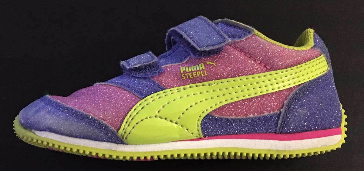 98a76fbfe puma zapatillas nena abrojo glitter brillos levhe importados. Cargando zoom.
