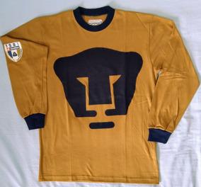 new york 3380e c17ce Pumas Lotto Jersey Retro Oro 80´s