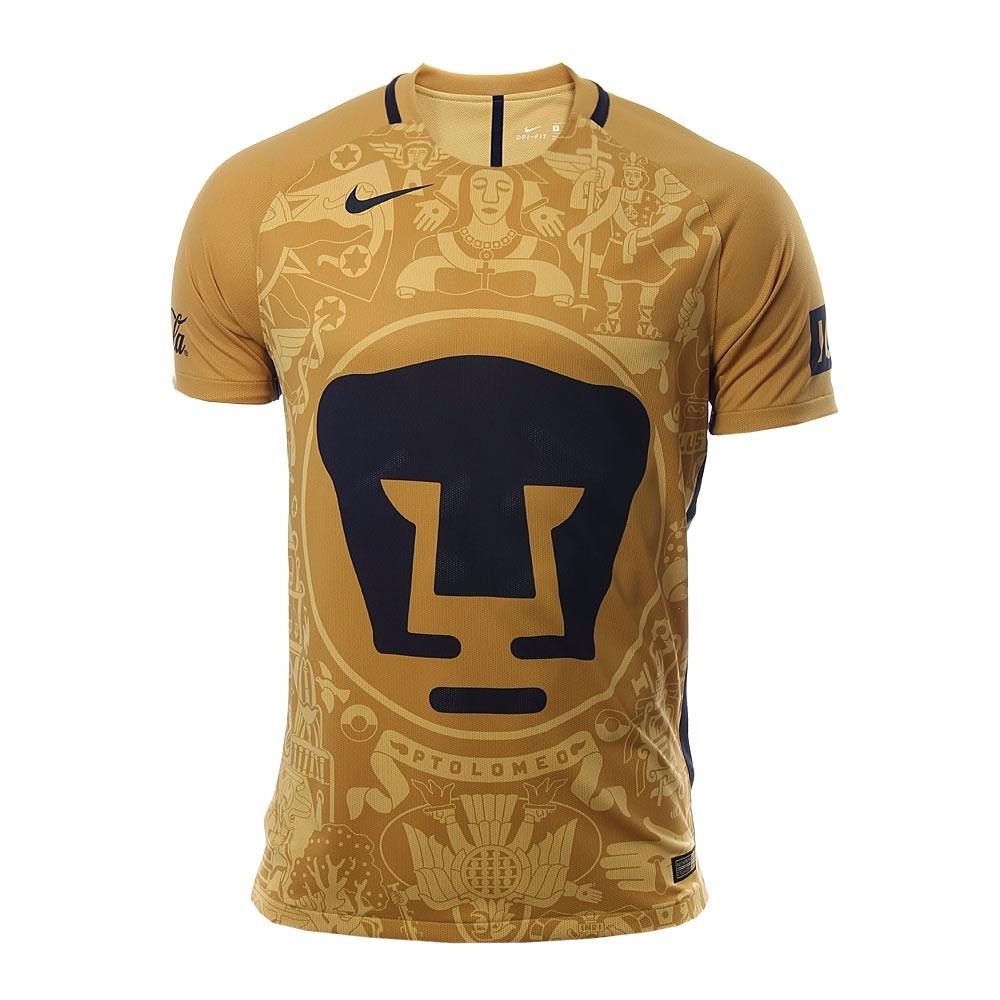 ... size l 716335 763 jorge campos  pumas unam nike jersey de jugador local 2016  2017 original f1f2898c0