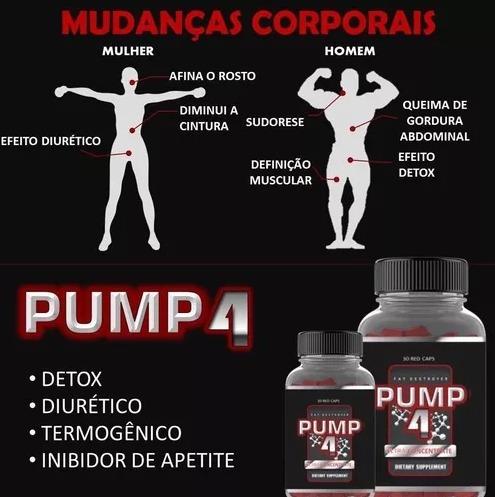 pump4 - emagrecimento absoluto - único emagrecedor