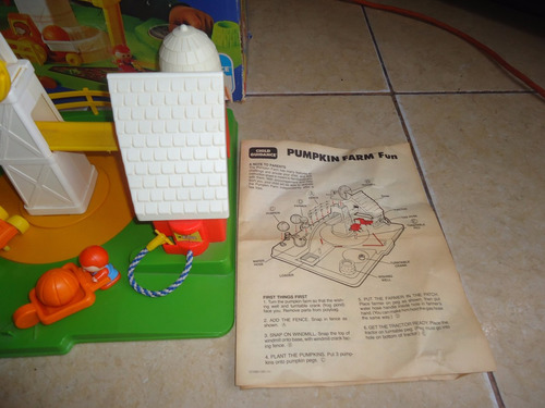 pumpkin farm granja calabazas cbs toys child guidance 1980 +