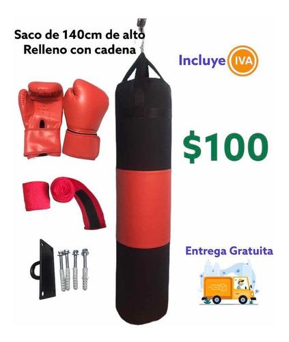 punching saco boxeo 140cm relleno mma precio incluye iva