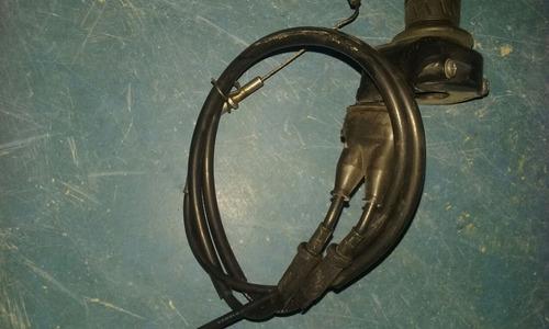 punho de aceleração com cabos a e b     kawasaki zx10 r 2011