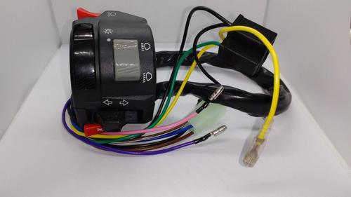 punho de luz interruptor esquerdo yamaha ybr factor 2014/16