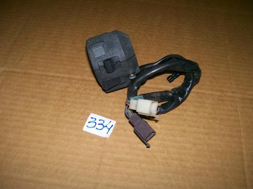 punho de luz lado esquerdo honda cbx 200 strada original