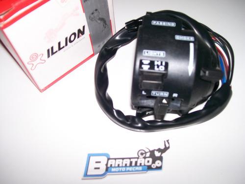 punho interruptor esquerdo luz pisca buzina bross 125 150 es