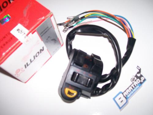 punho interruptor esquerdo luz pisca buzina cg 125 ml turuna
