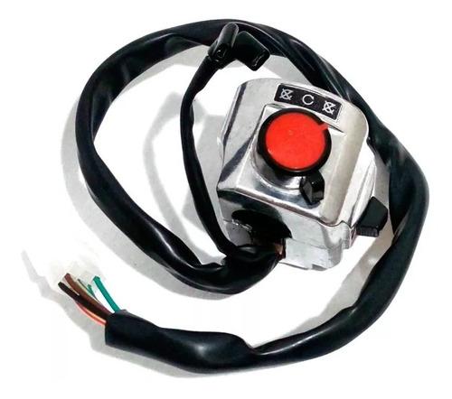 punho interruptor partida dafra kansas 150 modelo original