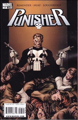 punisher  #7 - remender -huat - loughridge  - inglés