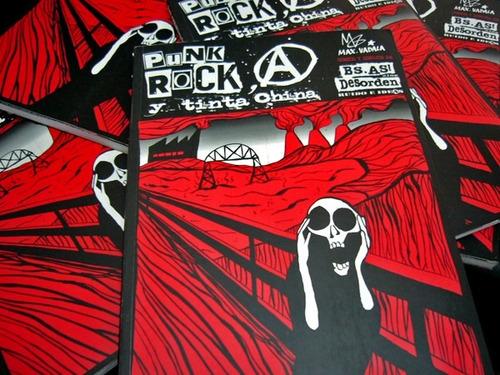 punk rock, anarquía y tinta china - max vadalá