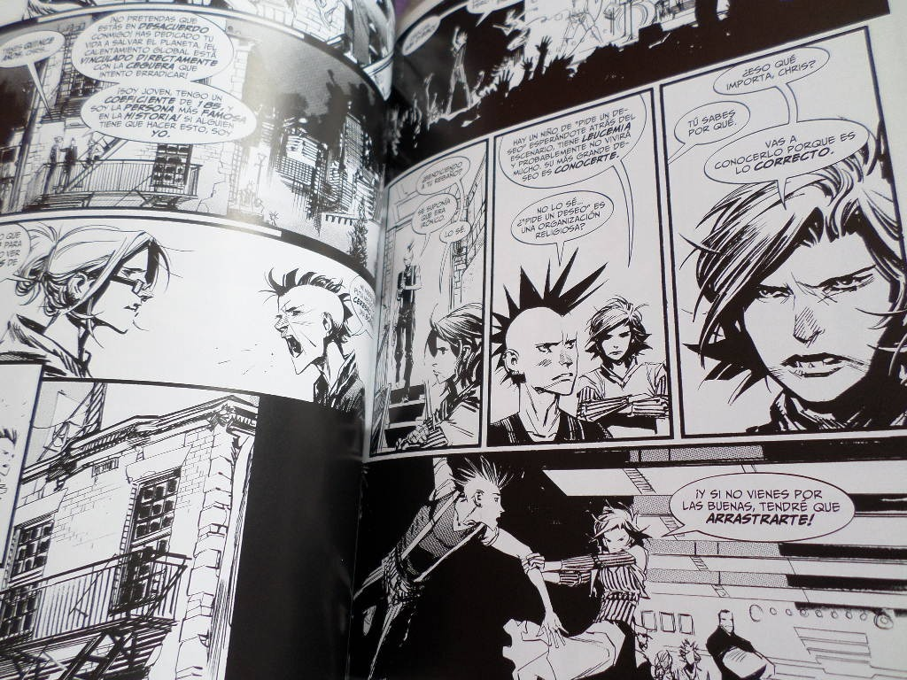 Punk Rock Jesus Completa Vertigo Comics Panini Comics Mexico